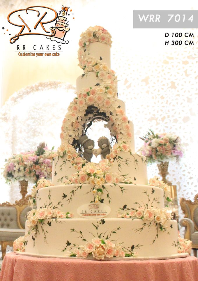 New Wedding Cake 2018 by RR CAKES - 023
