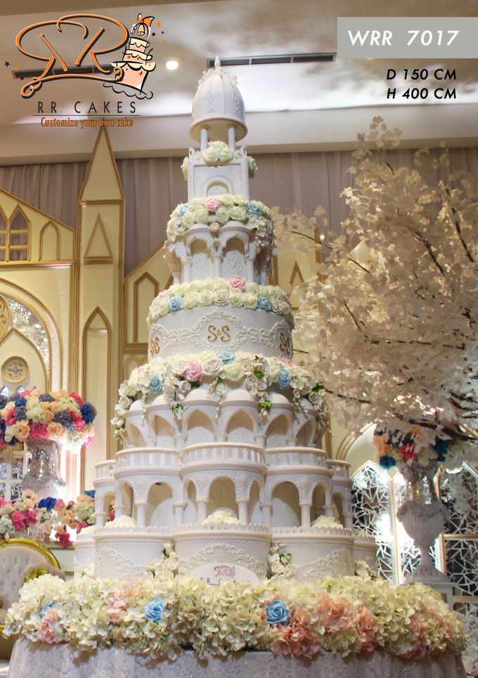 New Wedding Cake 2018 by RR CAKES - 026