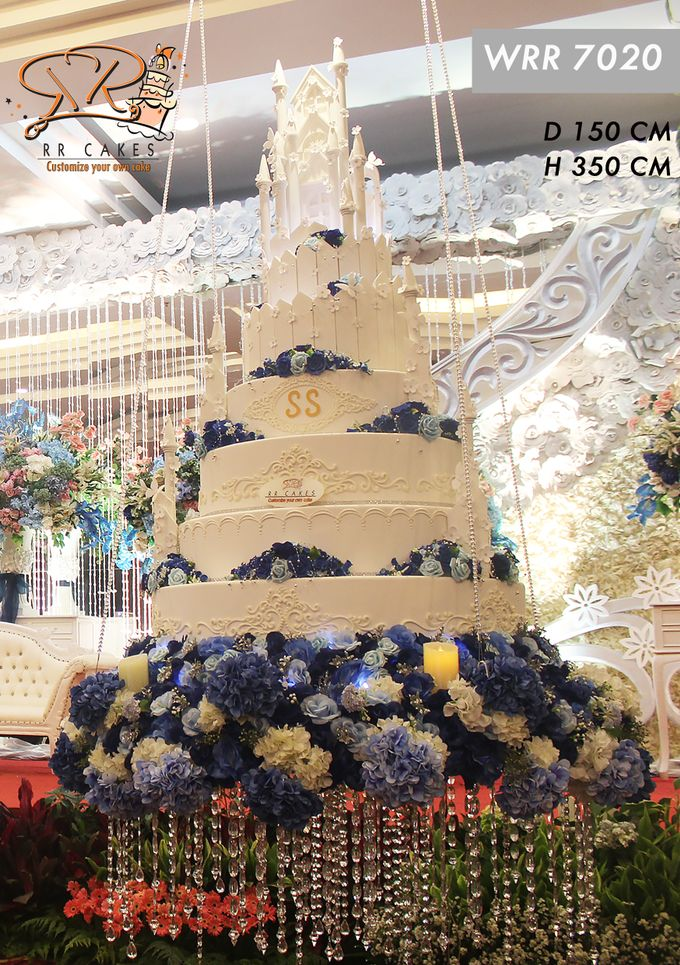 Wedding Cake in 2019 - 7 Tiers by RR CAKES - 006