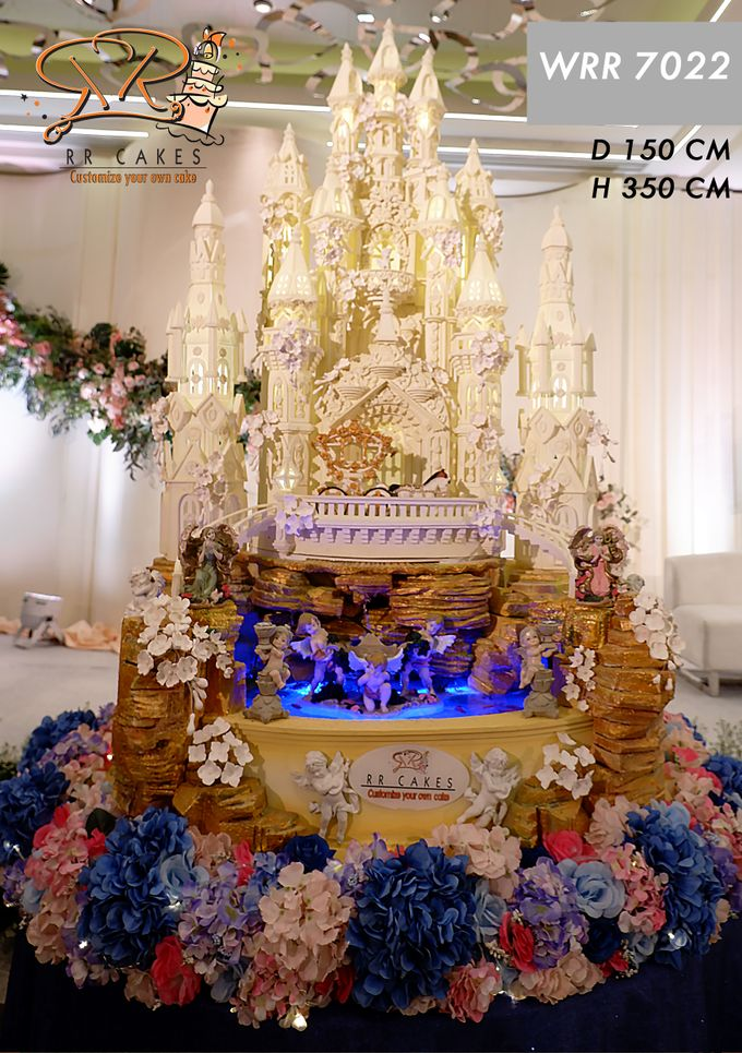Wedding Cake in 2019 - 7 Tiers by RR CAKES - 007