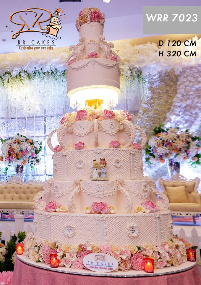 Wedding Cake in 2019 - 7 Tiers by RR CAKES - 008