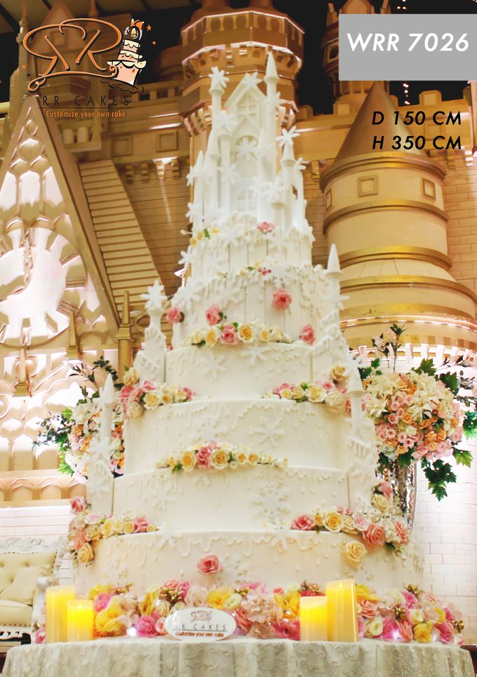 Wedding Cake in 2019 - 7 Tiers by RR CAKES - 009