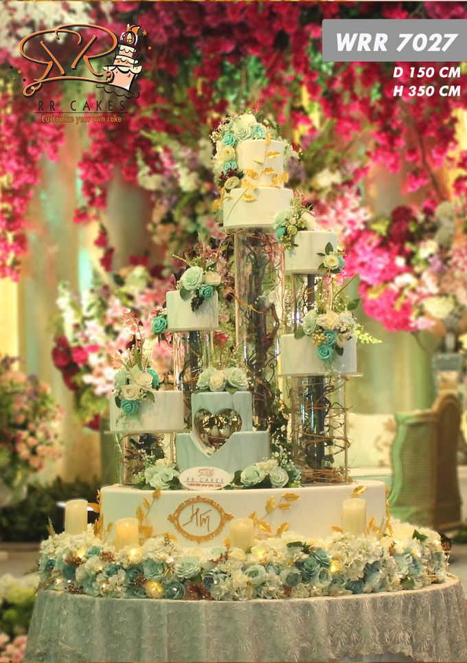 Wedding Cake in 2019 - 7 Tiers by RR CAKES - 012