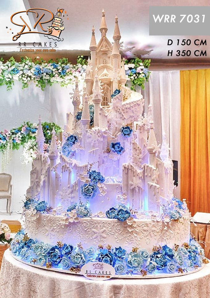 Wedding Cake in 2019 - 7 Tiers by RR CAKES - 015