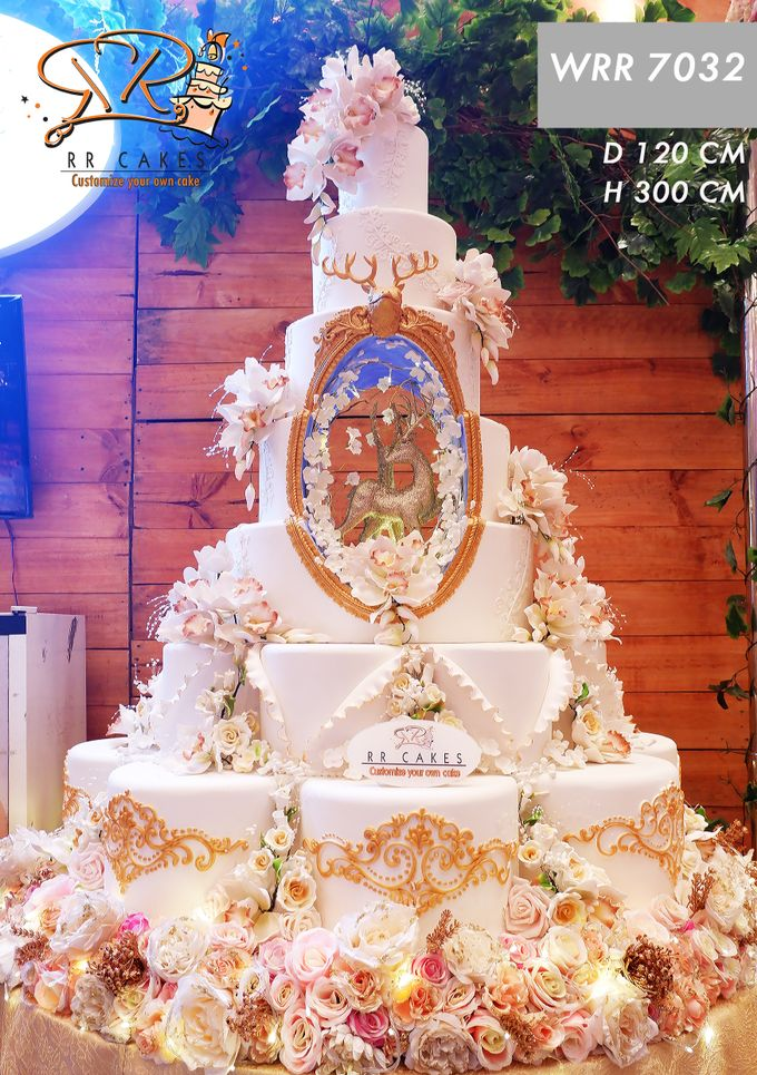 Wedding Cake in 2019 - 7 Tiers by RR CAKES - 017