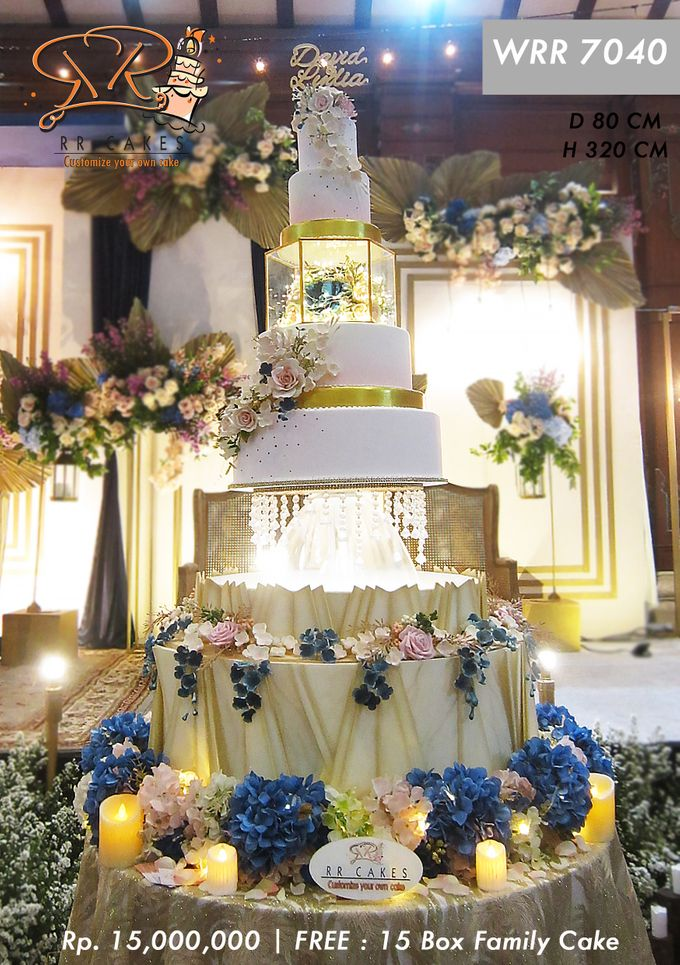 Wedding Cake 5 tier by RR CAKES - 002