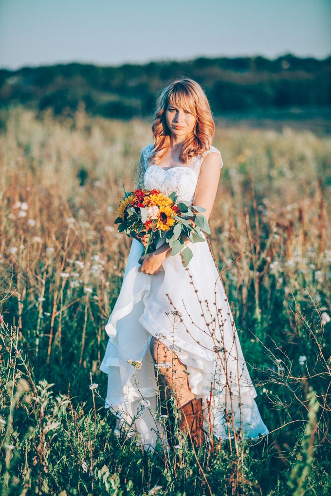 Country  Wedding by Marina Nazarova Photographer - 022