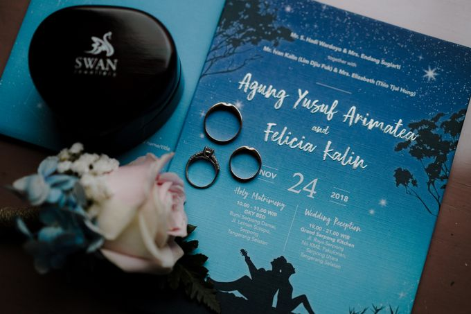 Wedding Agung & Felicia by WS Photography - 001