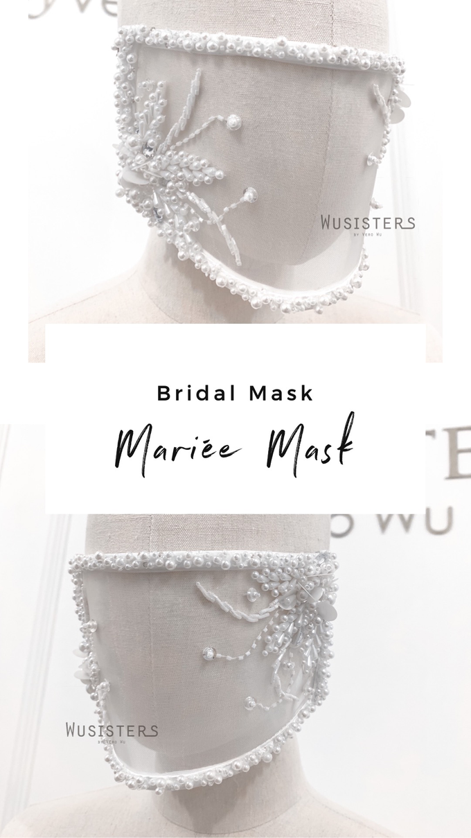 Bridal Mask by WuSisters by Vero Wu - 003
