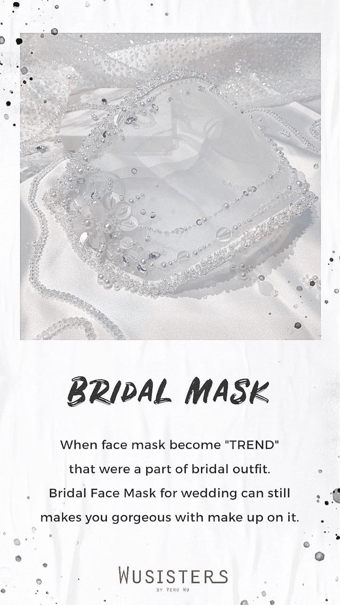 Bridal Mask by WuSisters by Vero Wu - 001