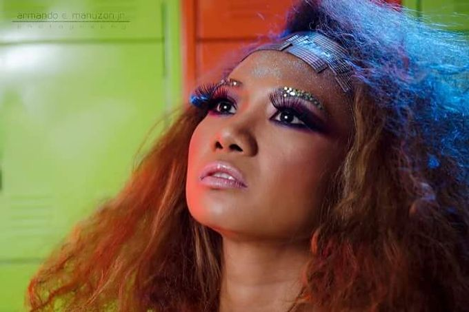 1970s Disco Theme Hair & Make Up by Gale Dy Make Up Artistry - 002