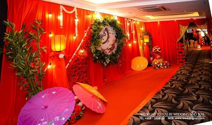 Oriental Wedding Decoration Theme by Wedding And You - 011