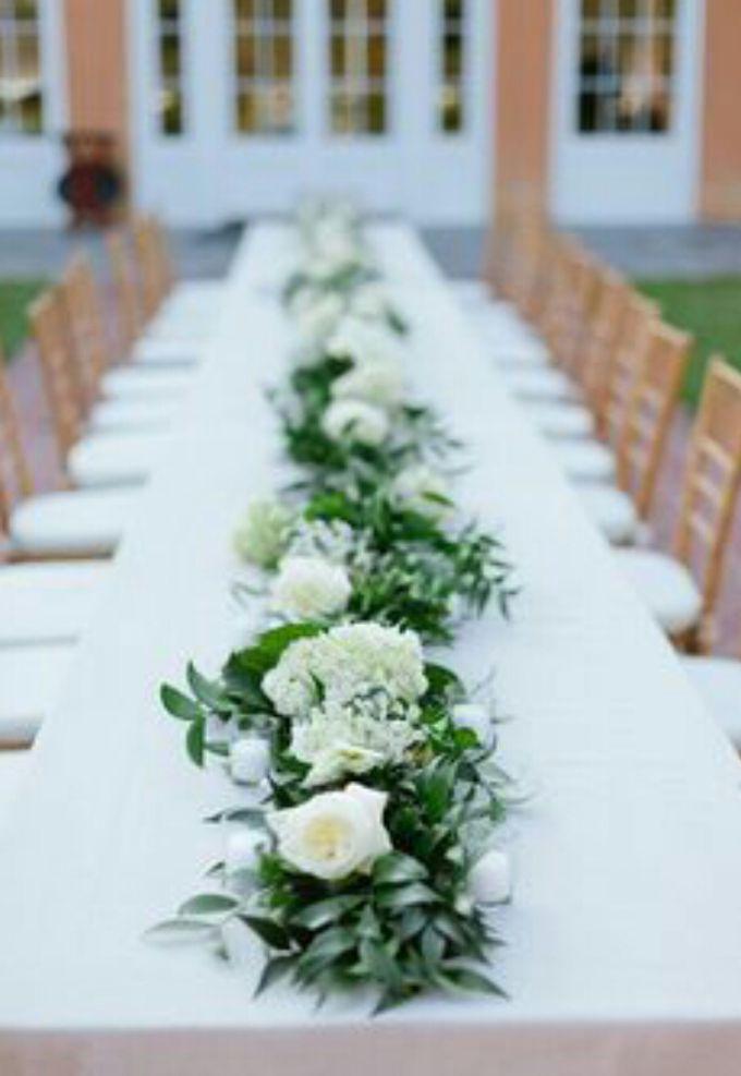 Dining Floral Arrangement by Dorcas Floral - 001