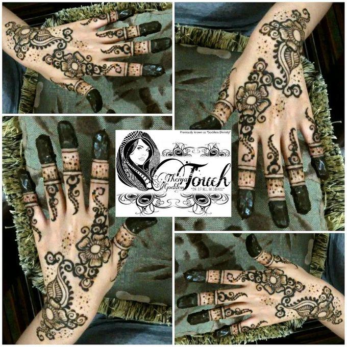 Henna Artwork Designing by Theiya Goddess Touch - 004