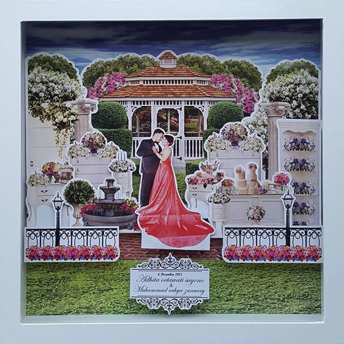Pop Up Frame Wedding Gift Bridestory