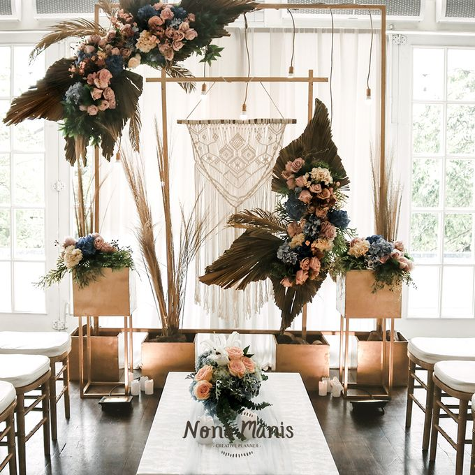Tasha & Willie Engagement Decoration by Nona Manis Creative Planner - 001