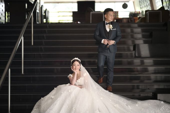 Adit & Tata Wedding at Hilton by PRIDE Organizer - 028