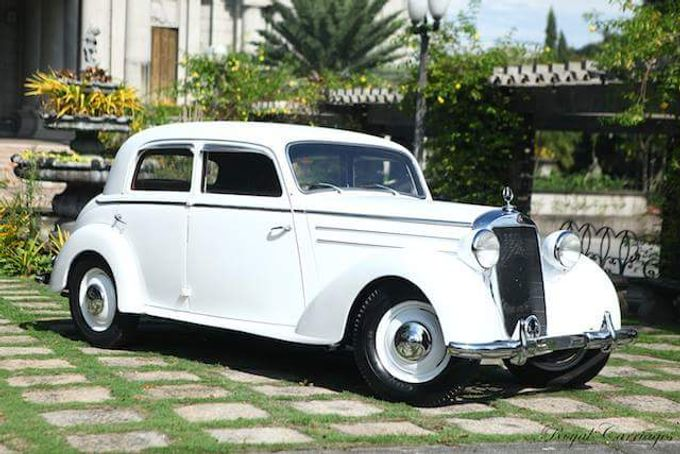 The Mercedes Benz 170d By Royal Carriages Bridal Cars