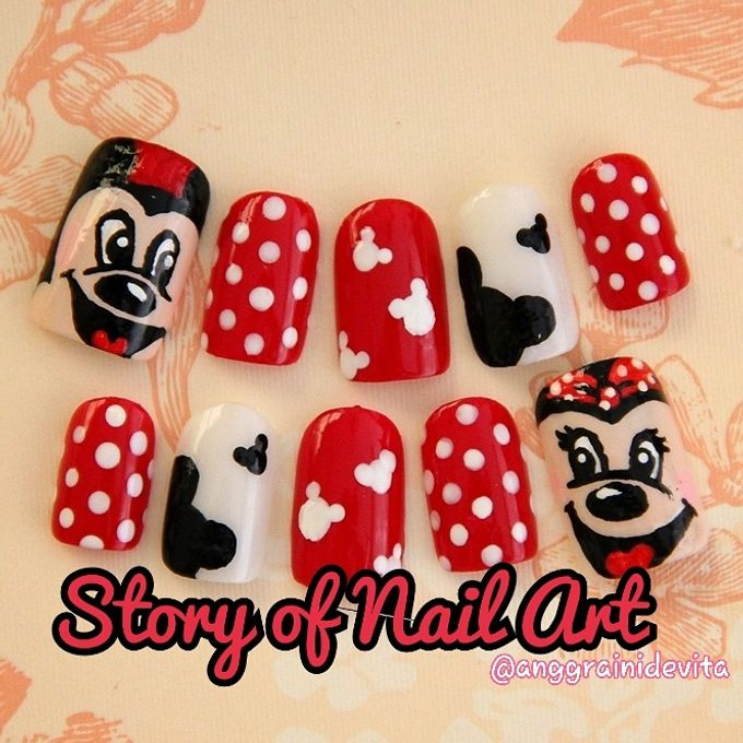 Painting Nails by Story of Nailart - 025
