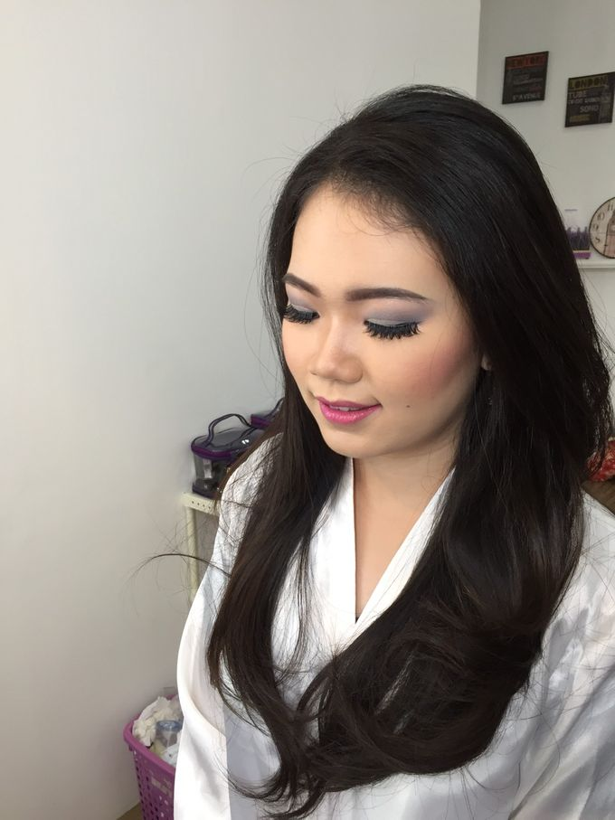 Wedding Makeup Trial For Ms. Yuli by Chesara Makeup - 003