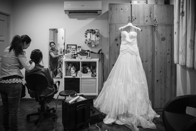 Actual Day Wedding - Xander & Jia Yi (Morning) by A Merry Moment - 003