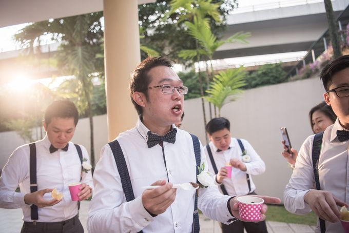 Actual Day Wedding - Xander & Jia Yi (Morning) by A Merry Moment - 035