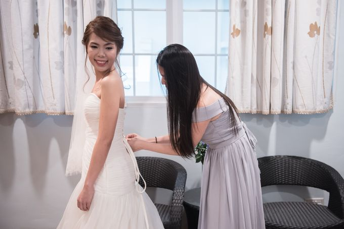 Actual Day Wedding - Xander & Jia Yi (Morning) by A Merry Moment - 015