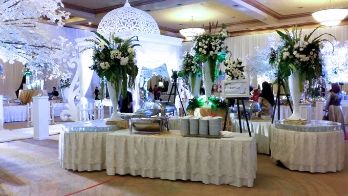 Adiezty Fersa & Gilang Dirga Wedding by Alfabet Catering - 002
