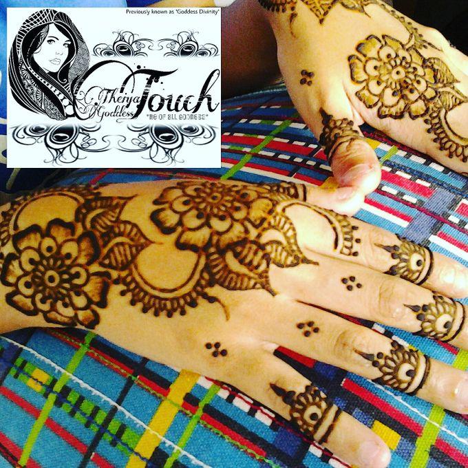 Henna Artwork Designing by Theiya Goddess Touch - 008