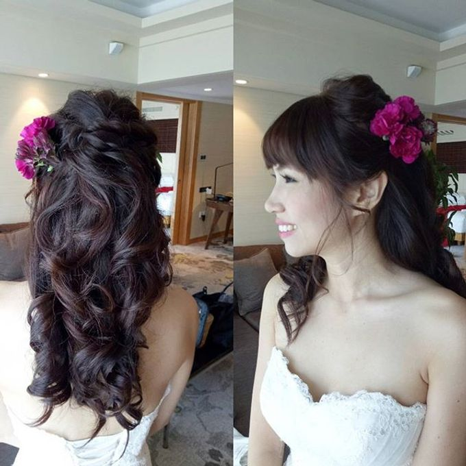 Bridal Makeovers by Star Glamour Artistry Pte Ltd - 009
