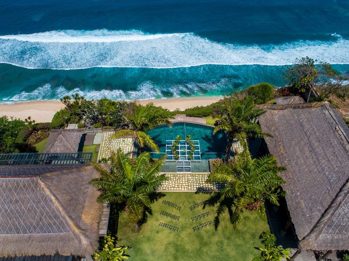 Whimsical Tropical Wedding at Stone House by Tirtha by Tirtha Bali - 040