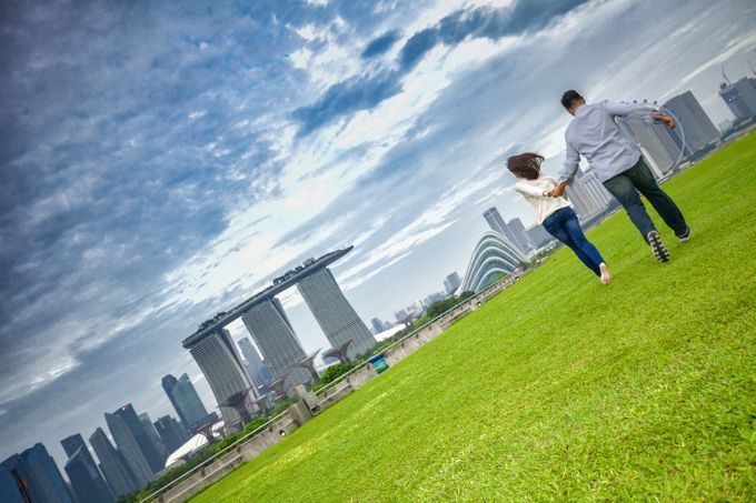 Couple Shoot At Marina Barrage by Gyver Chang Photography - 005