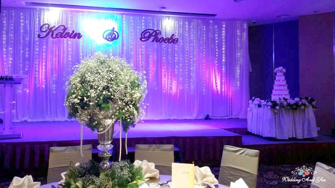 Stage Backdrop Design by Wedding And You - 004