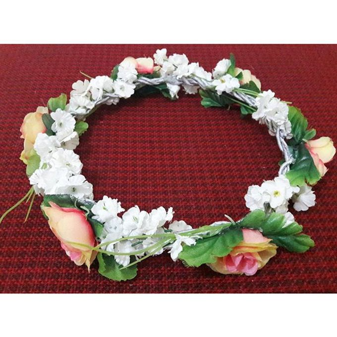 Flower Crown / Bando Bunga / Mahkota Bunga by Estrella Flower Crown - 033