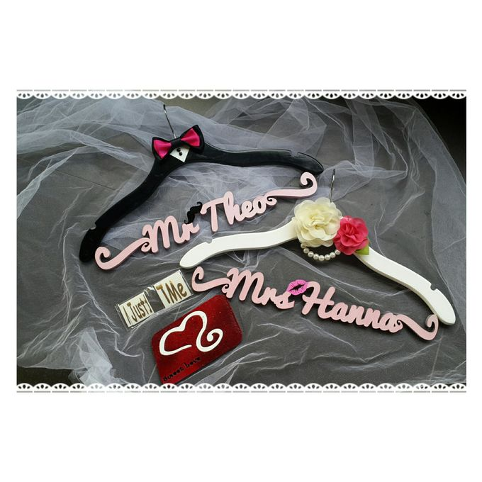 Wedding Hanger Name by Sweetlovecollection - 022
