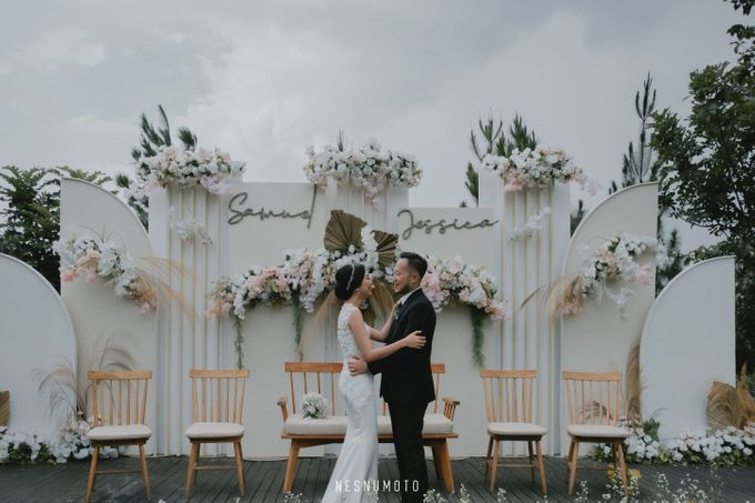 the wedding of Samuel & Jessica by THE HIVE BUMI PANCASONA - 011