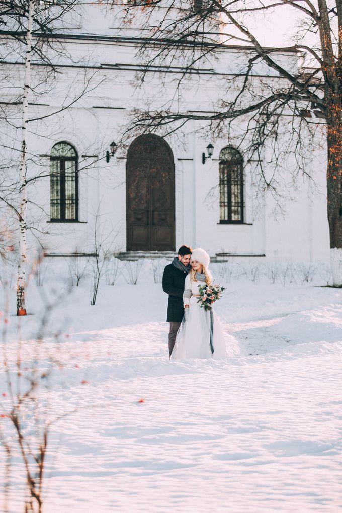 Wedding In Gzhel Style by Marina Nazarova Photographer - 038