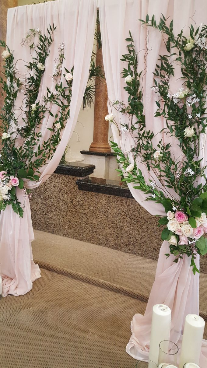 Rustic/classic Wedding by Esmae Event Floral Design - 005