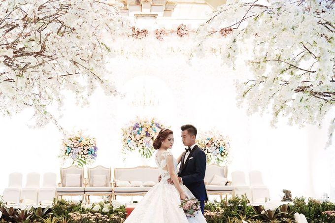 Wedding Norman & Chikka by Hotel Borobudur Jakarta - 004