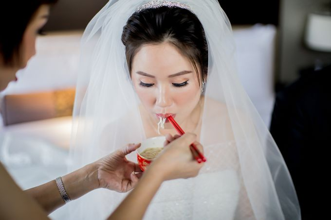 Grace Wedding. Natural & Korean Style Make Up by Marsia Yulia Signature. Natural and Korean Make Up Specialist. - 001