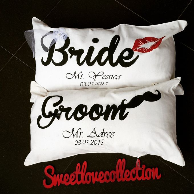 Wedding Pillow by Sweetlovecollection - 034