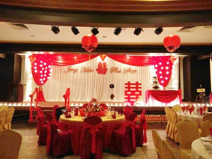 Oriental Wedding Decoration Theme by Wedding And You - 043