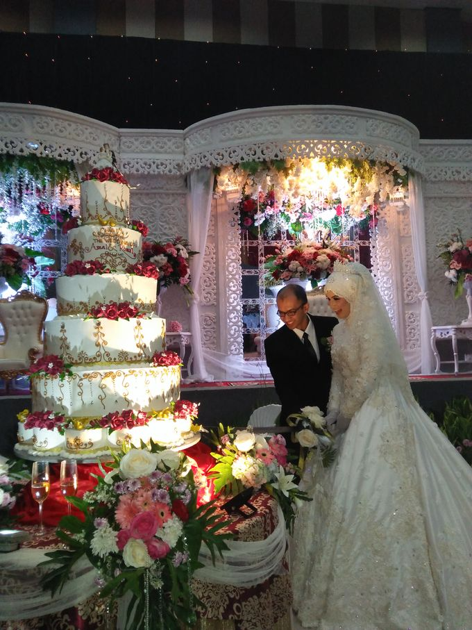The Wedding Of Amal & Romzi by Uci Bakery - 004