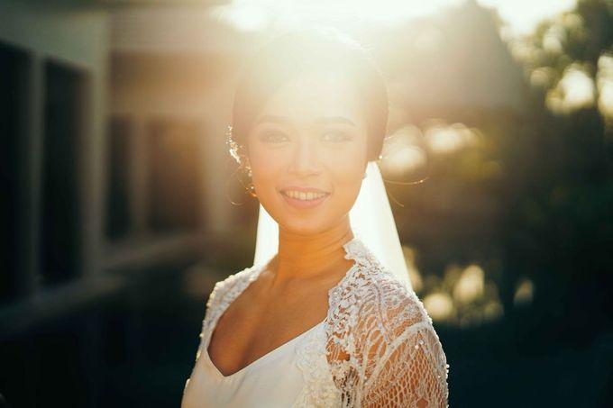THE WEDDING OF ANDRES & REGINA - Morning Bridal Beauty Shoots by Meliana Make Up Artist - 009
