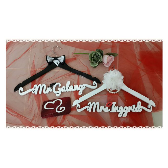 Wedding Hanger Name by Sweetlovecollection - 005