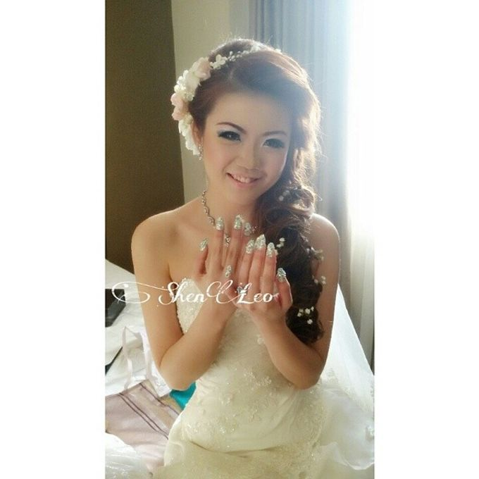 wedding makeup by ShenLeo Makeup - 013