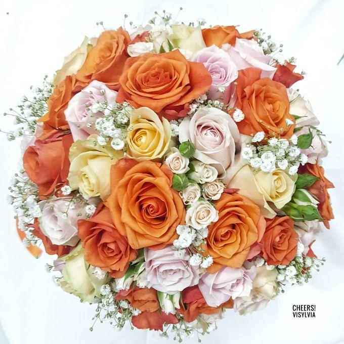 WEDDING BOUQUET  by visylviaflorist - 010