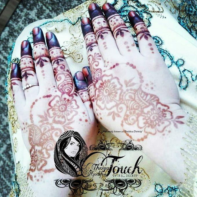 Henna Artwork Designing by Theiya Goddess Touch - 002