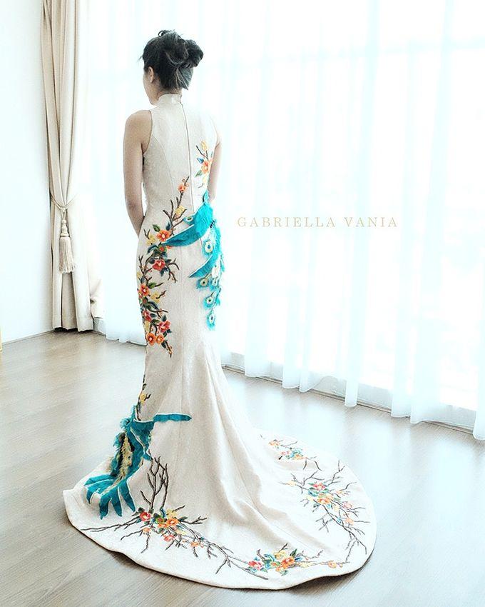 Cheongsam Embroidery - GV HERITAGE by GV by Gabriella Vania - 016