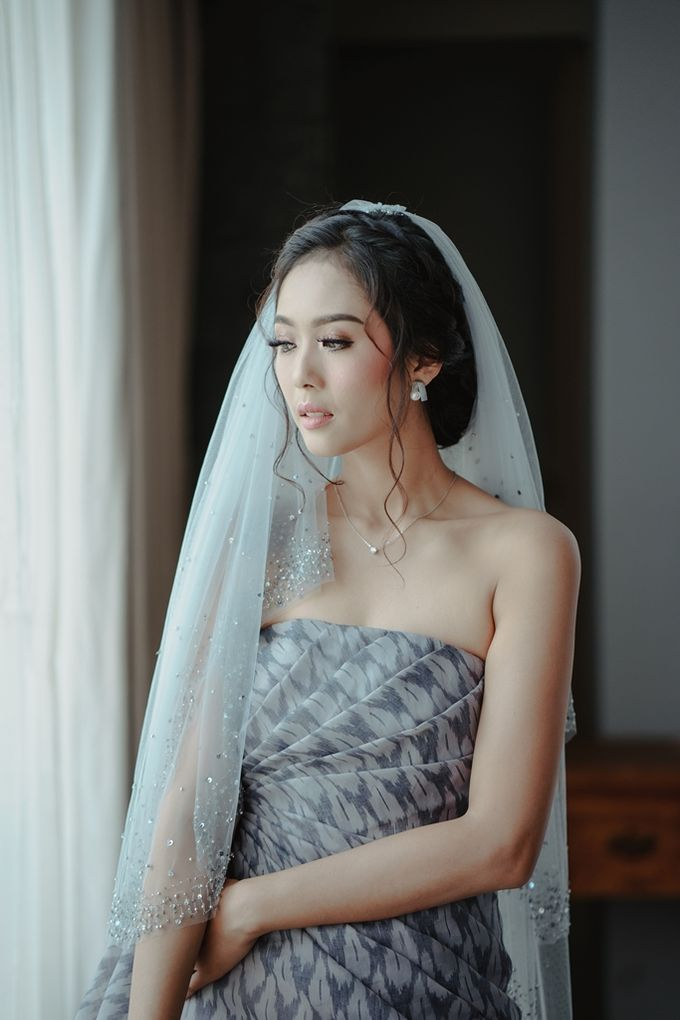 Yoga Arizona & Widya Amelia Wedding by SVARNA by IKAT Indonesia Didiet Maulana - 037